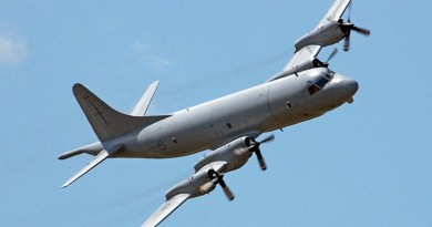 RNZAF Orion. NZDF file photo