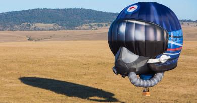 RAAF's new balloon. Photo by Leading Aircraftwoman Katharine Pearson