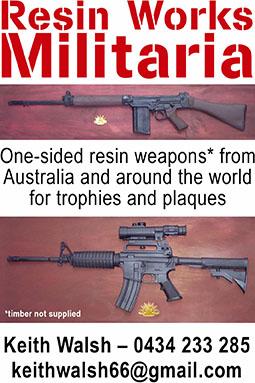 Keith Walsh Resin Works resin weapons