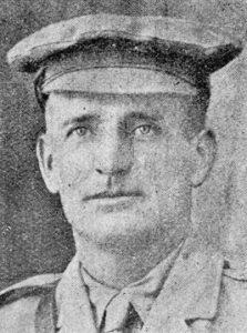 Second Lieutenant James Benson
