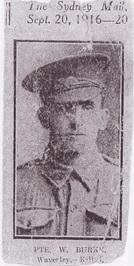 Private William Burke