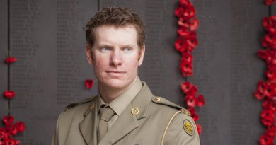 Corporal Daniel Keighran, VC. Photo by Lauren Black
