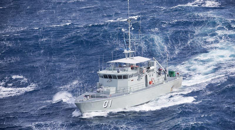 Papua New Guinean Pacific Class patrol boat, HMPNGS Rabaul.