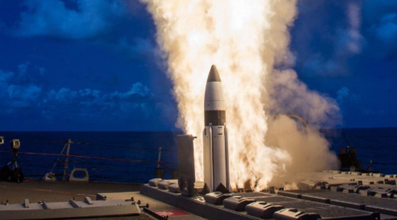 Photo courtesy of Missile Defense Agency. (PRNewsFoto/Raytheon Company)