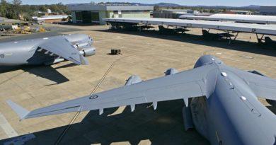 RAAF Base Amberley flightline 2007