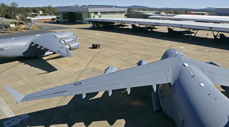 RAAF Base Amberley flightline 2007