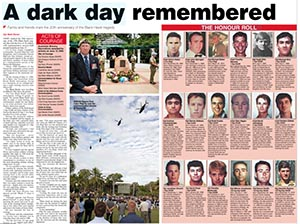 Read full spread in ARMY newspaper