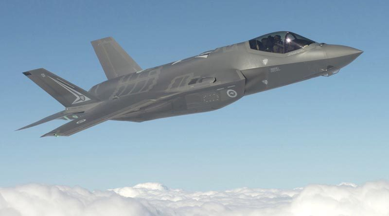 File photo – Australian F-35 AU-1 at Fort Worth, Texas. Lockheed Martin photo by Liz Kaszynski