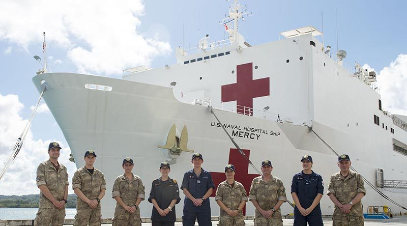 Kiwis on board for South-Pacific Mercy mission