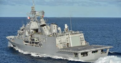 HMNZS Te Kaha heads for Sydney for pre-RIMPAC training.