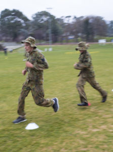 Australian Air Force Cadet Elliot Carey running to the next obstacle during battle PT at the Australian Defence Force Academy. *** Local Caption *** Australian Air Force Cadets (AAFC) from No 2 Wing commemorated the 75th anniversary of the AAFCs with a tour of military establishments and museums/memorials in Williamtown, Canberra and Sydney. The Australian Air Force Cadets (AAFC) is a youth oriented organisation that is administered and actively supported by the Royal Australian Air Force. The AAFC teaches you valuable life skills and will help you develop qualities including leadership, self reliance, confidence, teamwork and communication. Their fundamental aim is to foster qualities that will enable cadets to become responsible young adults, who will make a valuable contribution to the community. Please note the following distinction: Australian Air Force Cadets (AAFC), along with Australian Navy Cadets and Australian Army Cadets are members of the Australian Defence Force (ADF) Cadets. ADF Cadets are participants in the youth development program conducted by the three services in cooperation with the community but they are not members of the ADF. Officer Cadets (Air Force) and Staff Cadets (Army) are trainee officers undertaking instruction at the Australian Defence Force Academy or the Air Force Officers' Training School or Royal Military College Duntroon, The terms 'ADF Cadets', 'Officer Cadets' and 'Staff Cadets' are not interchangeable. Trainee naval officers are not cadets; they are commissioned officers with the rank of Midshipman.