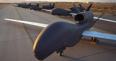 RQ-4 Block 10 Global Hawk. Northrop Grumman photo.