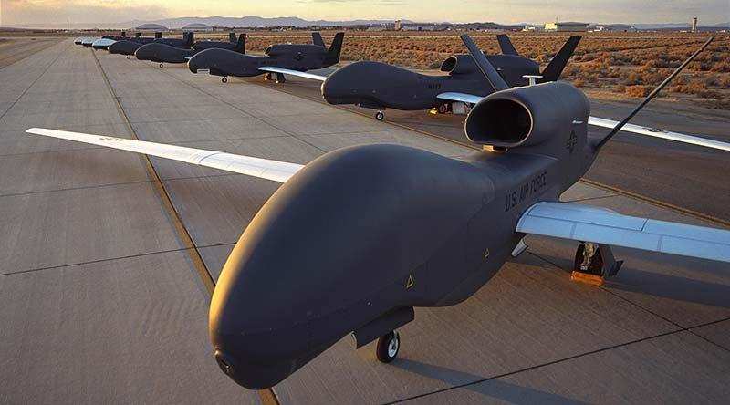 RQ-4 Block 10 Global Hawk. Northrop Grumman photo.