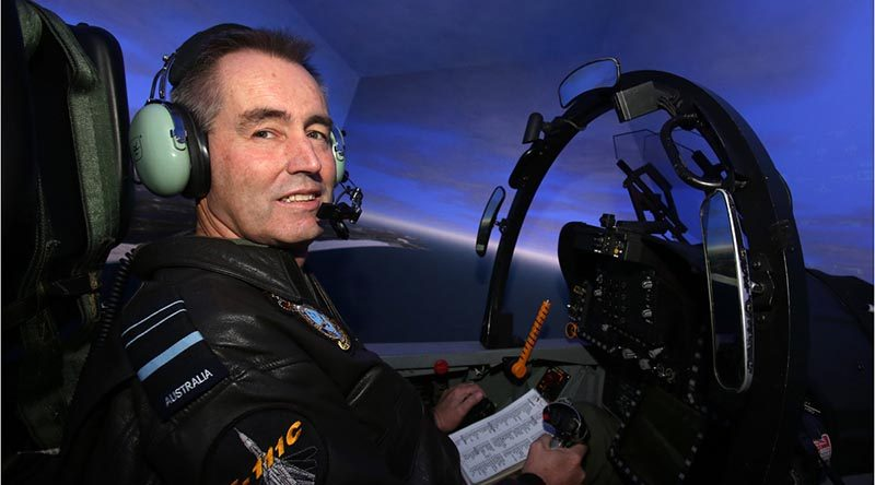 Former Chief of Air Force Air Marshal Geoff Brown. Photo by Corporal Mark Friend