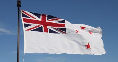 Royal New Zealand Navy White Ensign