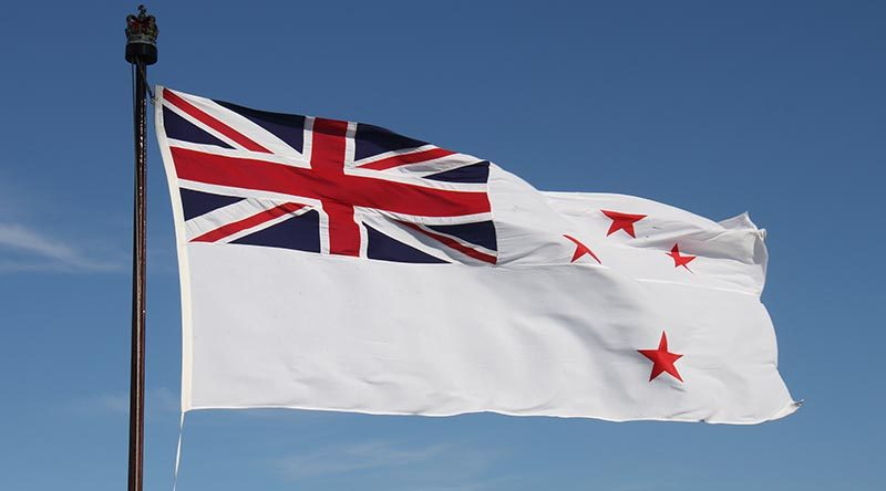 Royal New Zealand Navy White Ensign