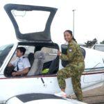 Leading Cadet Princia Menezes from 601 Squadron (Keswick Barracks)