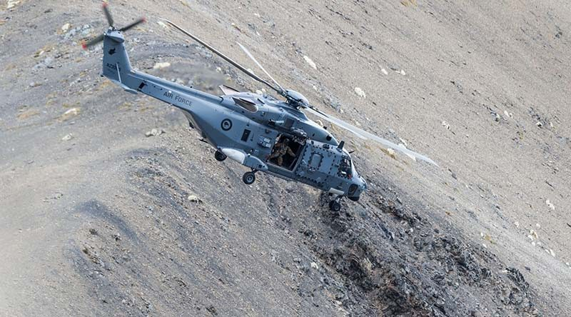 NZDF NH-90 helicopter. File photo.
