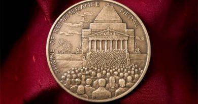 Shrine of Remembrance Medal 2016