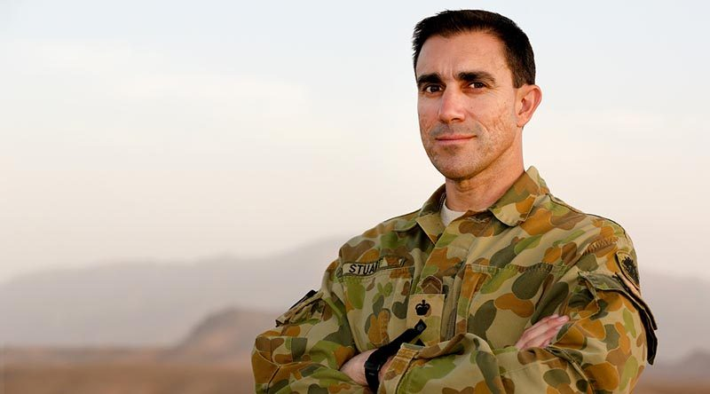 Then Colonel Simon Stuart, Commander Combined Team Uruzgan in 2012/13, will lead multinational peacekeeping force in Africa. Photo by Corporal Mark Doran.