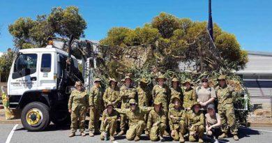 416 Army Cadet Unit Tunarama float