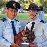 CCPL Alexander Burrow (609 Squadron, Warradale Barracks), dux of the SNCO Course (Course A)