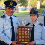 LCDT Tanielle Edwards from 605 ('City of Onkaparinga') Squadron, dux of the JNCO Course