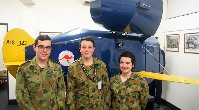 Air Force Cadets use the Link Trainer to learn to fly with no outside visibility, using only instruments – simulating flying at night, in cloud and in bad weather.