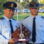 CFSGT Kyle Roberts (609 Squadron, Warradale Barracks), dux of the Cadet Under Officer Course