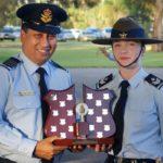 CFSGT Kelsey Wurfel (601 Squadron, Keswick Barracks), dux of the Cadet Warrant Officer Course