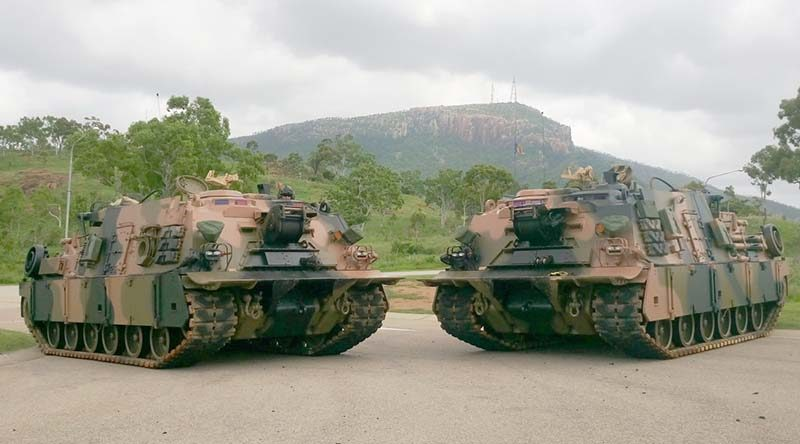 Two new M88 HERCULES in Townsville.
