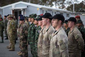 Medals parade at AASAM. ADF photo.