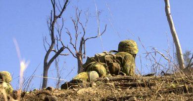 Live-fire exercise, file photo. Photo by Belinda Mepham.
