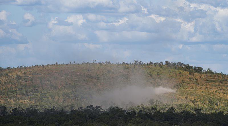 Mount Bundy Training Area.