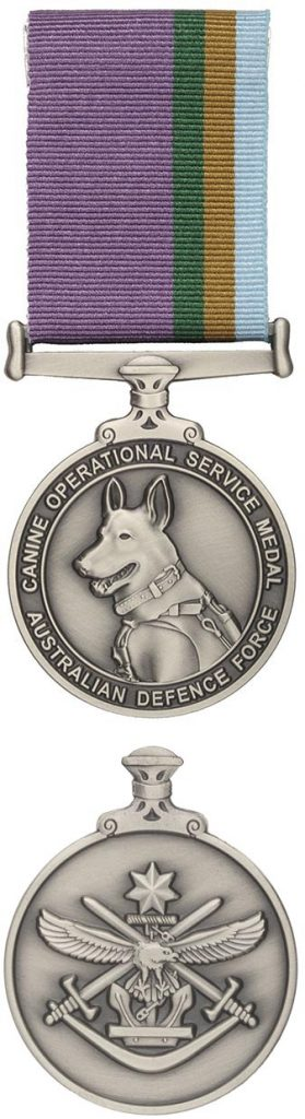 The Canine Operational Service Medal