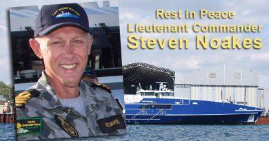RIP Lieutenant Commander Steven Noakes