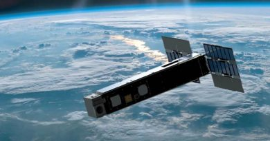 Biarri-Point satellite in space (artists impression).