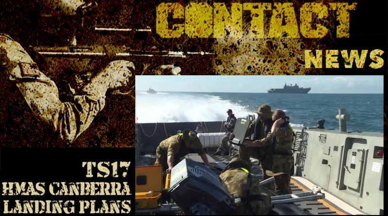 HMAS Canberra landing rehearsals video