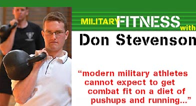 Military Fitness with Don Stevenson archives