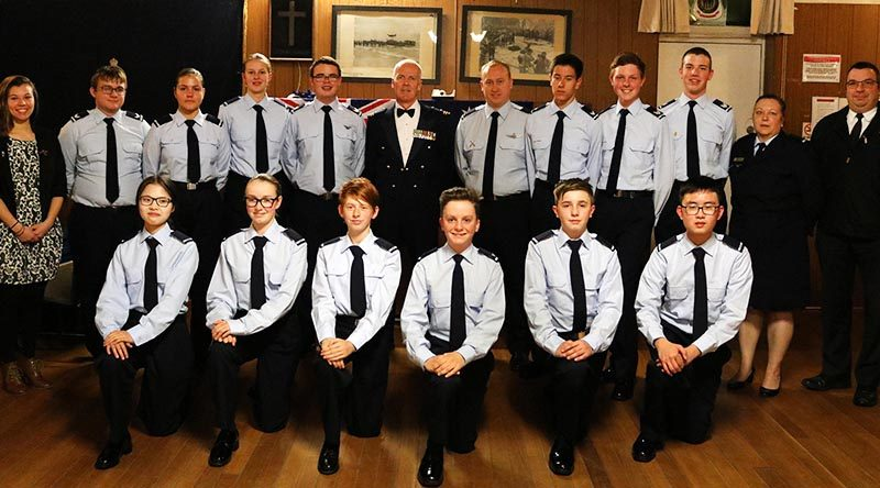 617 Squadron, Australian Air Force Cadets 2017 Dining-in Night. Image supplied by 617 Squadron.