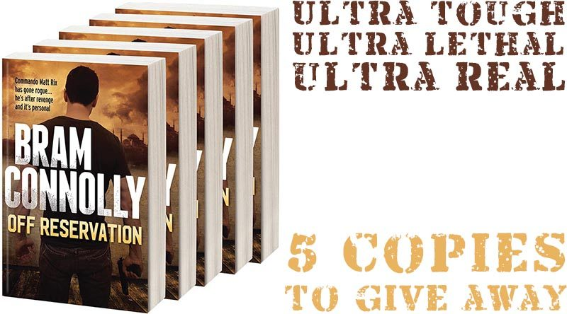 Bram Connolly book giveaway