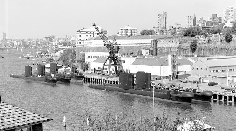 HMAS Platypus, December 1984.