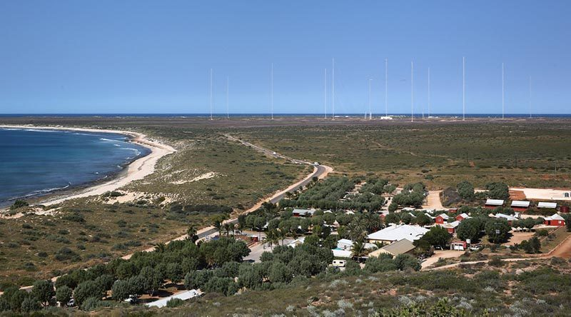 Naval Communication Station Harold E Holt in Exmouth, north-west Australia. Photo by Corporal Nick Wiseman.