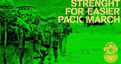 Build strength to make pack marching easier