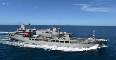 File photo HMNZS Endeavour.