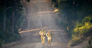 After walking a long road in the ADF, veterans are often daunted by the prospect of tertiary education. File photo by Michael Jackson-Rand.