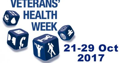 Veterans' Health Week 2017