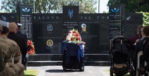 Funeral service for Sergeant Wayne Taylor at Papakura Military Camp. NZDF photo.