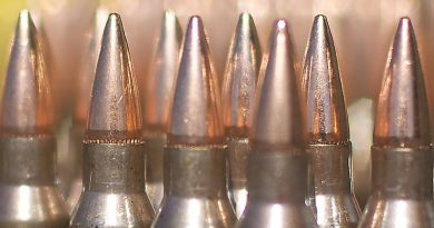 Australian 5.56mm ammunition. Photo by Sergeant John Waddell.