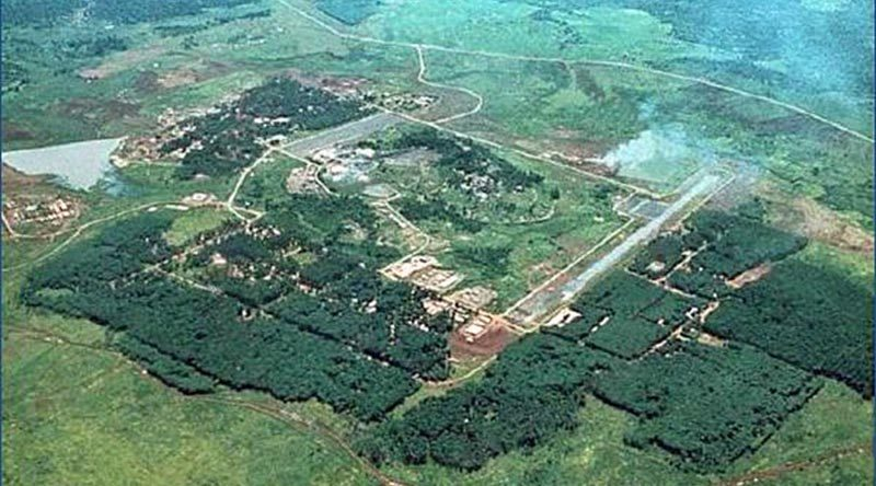 Australian Task Force Base at Nui Dat.